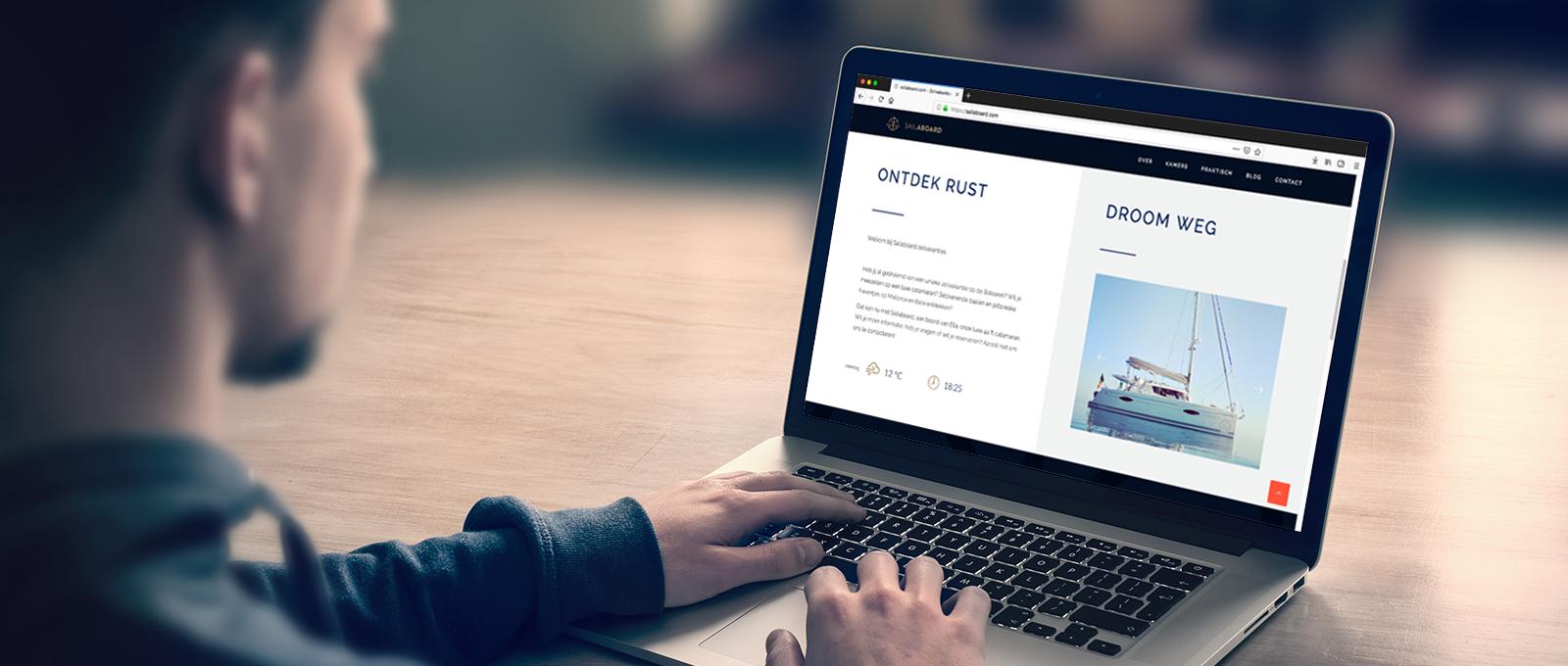 nieuwe website sailaboard